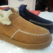 男鞋保暖雪地棉鞋磨砂牛皮鞋图片