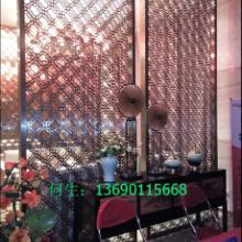 供应江西樟树欧式不锈钢屏风/大型餐厅钛金不锈钢屏风加工厂家批发
