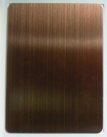 红古铜拉丝不锈钢板图片|红古铜拉丝不锈钢板样板图图片