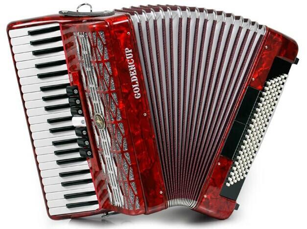 供应金杯手风琴JH2008120贝司120BS 41键 三排簧琴