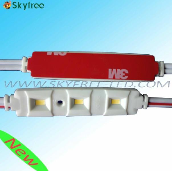 供应广东3灯5630LED注塑模组 LED三星模组批发 车顶灯阅读灯模组价格