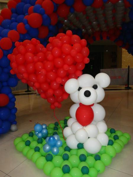 供应河源宝宝宴气球布置,生日派对气球装饰,婚礼气球装饰。