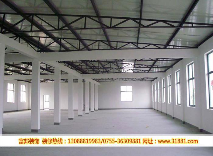 龙华油松背景翻新,厂房装修v油松,油松承包钢结构厂房柜子电视墙大工程做多高的图片