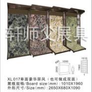 屏风型陶瓷展具瓷砖展示架图片