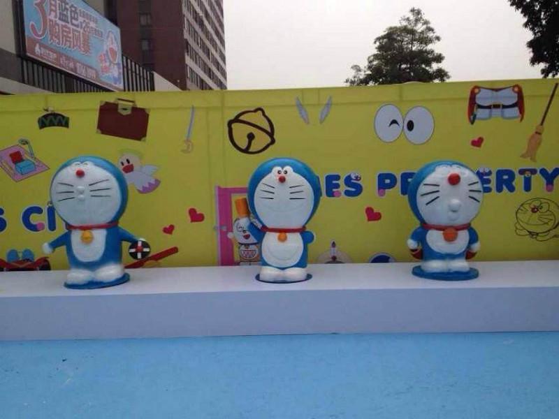 机器猫展kt猫熊猫展图片图片