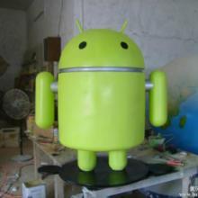 供应安卓系统标志雕塑手机营业厅雕塑