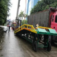 马安移动集装箱装卸登车桥供货商