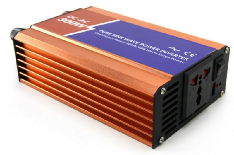 供应300W高频纯正弦波逆变器12V转220V家船用车载电源转换器