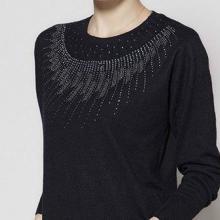 韩版日系大码女装新款毛衣批发长袖羊绒打底衫批发批发
