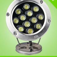 LED水底灯喷泉户外防水射灯12W图片