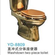 金色陶瓷马桶图片