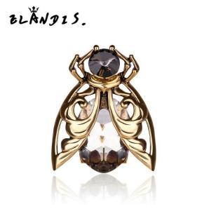 欧美大牌宝石戒指创意昆虫戒指图片
