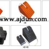 供应橡胶止轮块 橡胶防撞块 橡胶护角 防撞橡胶护垫 止进器停车楔