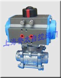 供应3PQ661F焊接三片式气动球阀,焊接球阀,不锈钢球阀,气动球阀