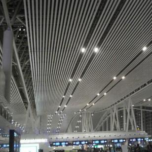 福州弧形铝方通图片