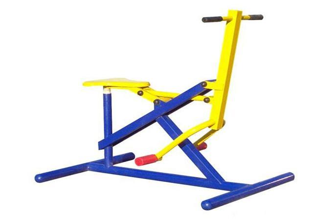 健身器材大全_室外健身器材扭腰踏步器图片