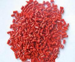 PP再生料粉红色鲜红色图片