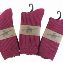 供应袜子男士羊毛袜中筒外贸兔羊毛袜子男士加厚袜纯棉袜冬春季袜子图片