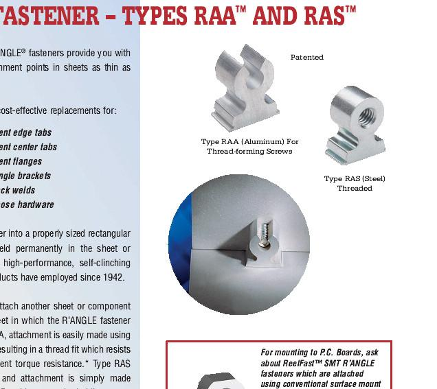 供应PEM直角线扣RAS-M4-9-7