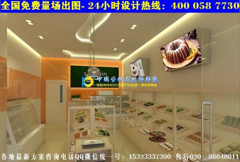 香港蛋糕店装修图欧式面包店装修效果图大全图片