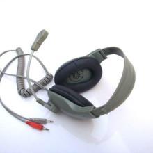 厂家直供语音室头戴教学耳机 动圈话咪 单声道扞头