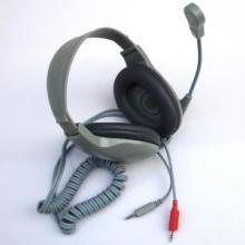 供应动圈式语音室教学头戴耳机 立体声扦头