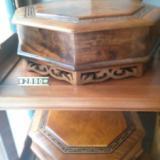 供应金丝楠木工艺品报价水波纹果盘盒。金丝楠木家具厂批发