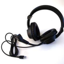供应USB教学语音室头戴耳机电脑耳机