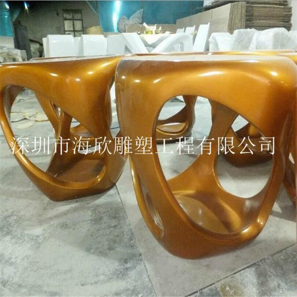 玻璃钢公园休闲桌椅雕塑销售