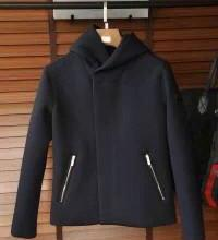 供应原单阿玛尼高端时装连帽夹克外套