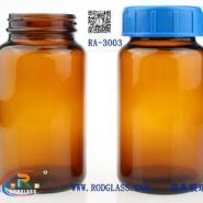 300ML棕色广口试剂玻璃瓶图片