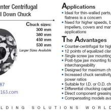 供应ECC6爪浮动卡盘-动力卡盘大空间切屑流第一道序应用-ECC-300-00