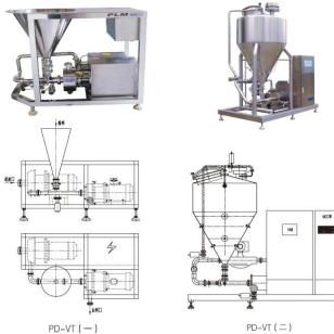 固/液分散混合系统-PD-VT系列图片