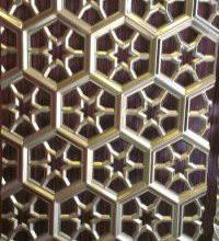 供应成都金属镂空装饰板材/玫瑰金不锈钢镂空压花装饰板批发批发