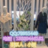 庄吉春夏款连衣裙尾货货源批发图片