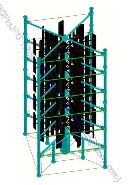 供应世界第一家20kw垂直轴风力发电机