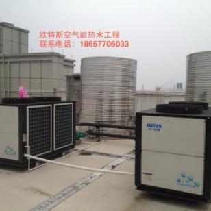 杭州10P/6-8-10吨空气能热水工程图片