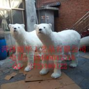 萌宝仿真北极熊熊猫展览道具图片