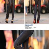韩版小脚裤女月之悦弹力