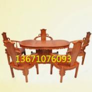 花梨茶桌茶椅图片