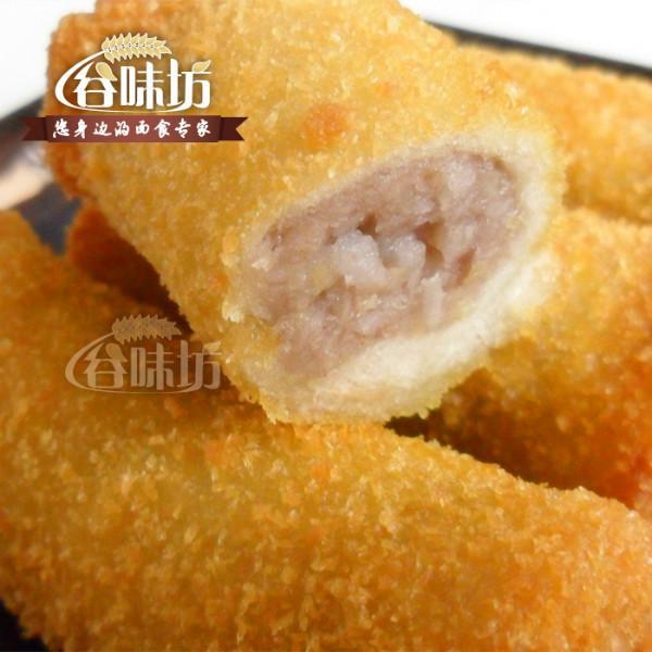 冷冻半成品台湾美食特色绿茶芋卷图片|冷冻半的男人如美食图片