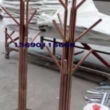供应不锈钢广告展示架生产厂家/产品不锈钢展示柜厂家定做图片