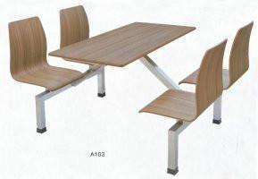 曲木餐桌椅厂家图片
