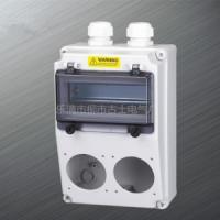 供应厂家批发工业防水插头插座配电箱PC料
