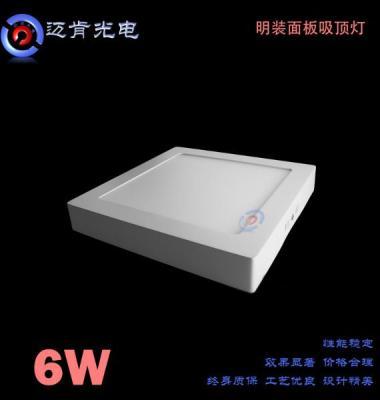 LED明装面板灯图片/LED明装面板灯样板图 (1)