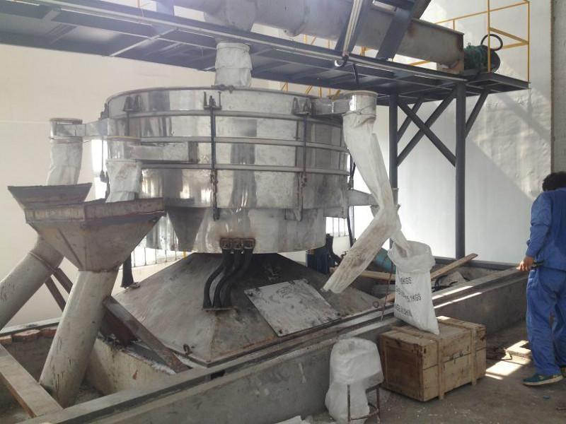 供应筛分碳化硅的摇摆振动筛分机械设备