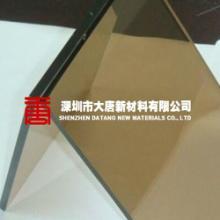 供应茶色PC耐力板阳光板-深圳茶色耐力板雨棚-东莞珠海茶色阳光板车棚图片