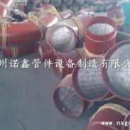 供应国标耐磨弯头 山西晋城国标陶瓷贴片耐磨弯头厂家批发 陶瓷耐磨弯头