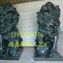 供应青铜狮子雕塑图片,青铜麒麟雕塑图片,蹲狮雕塑图片,铜狮图片,动物图片