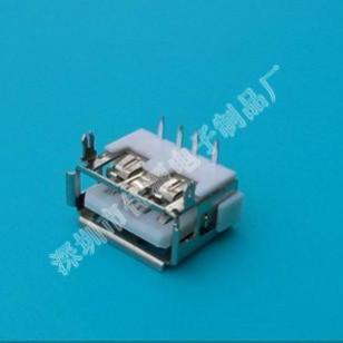 USB连接器接图片